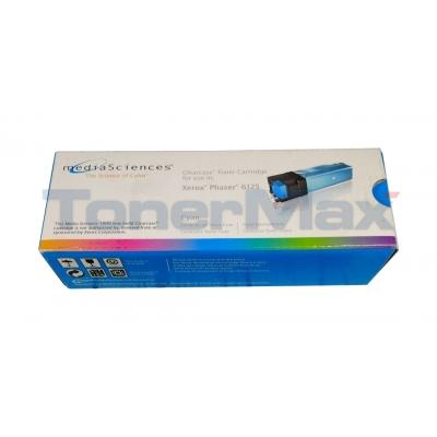 MEDIA SCIENCES TONER CARTRIDGE CYAN FOR XEROX PHASER 6125
